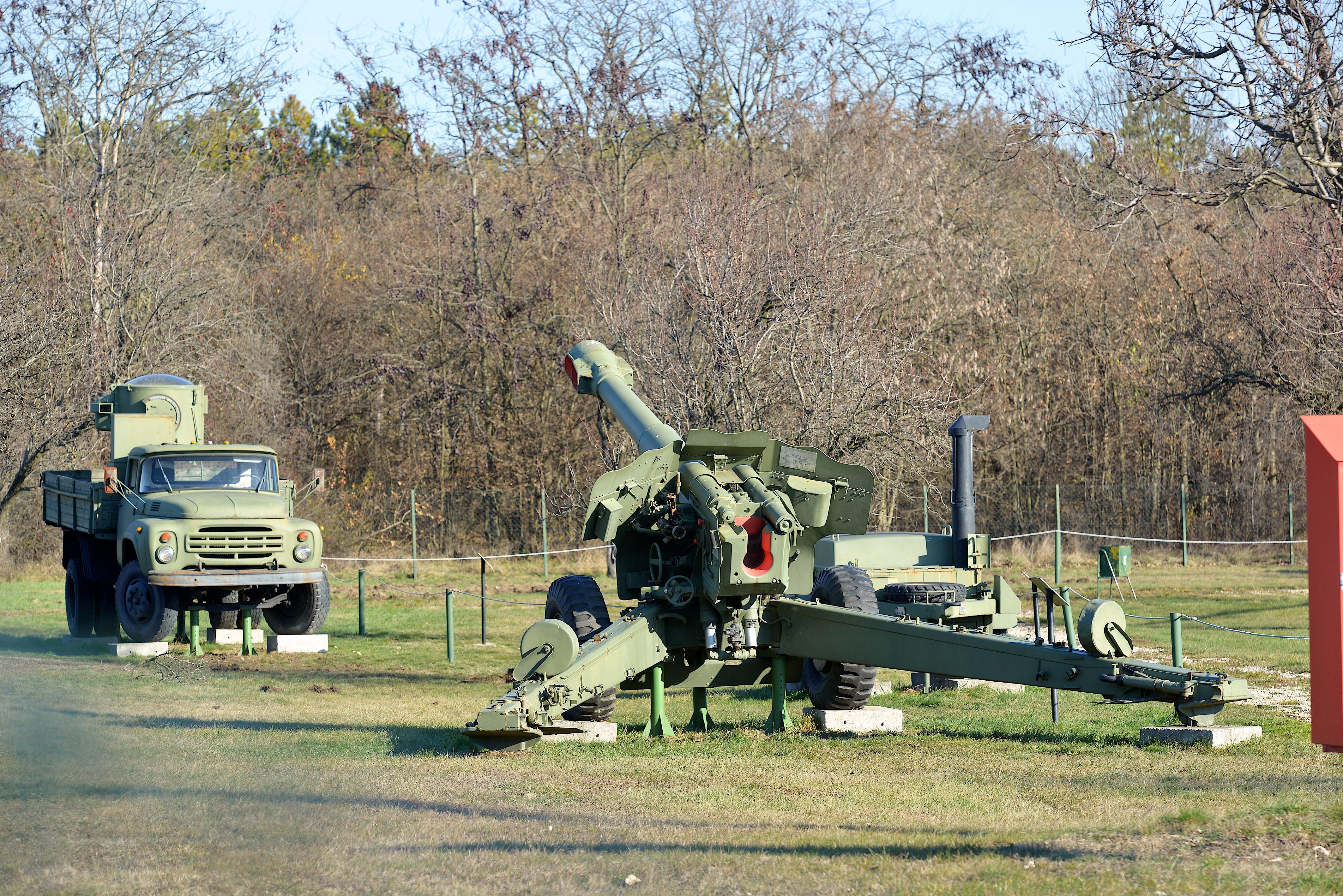 152 mm-es D-20 ágyútarack